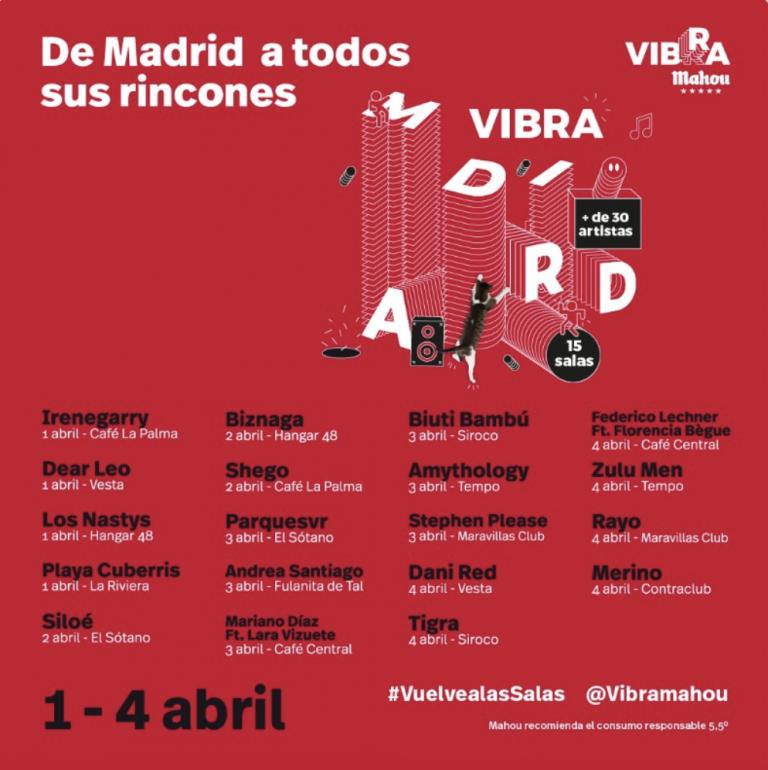 VIBRA MADRID llena de música la ciudad
