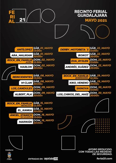 Ferial 21 nace en Guadalajara / Mayo